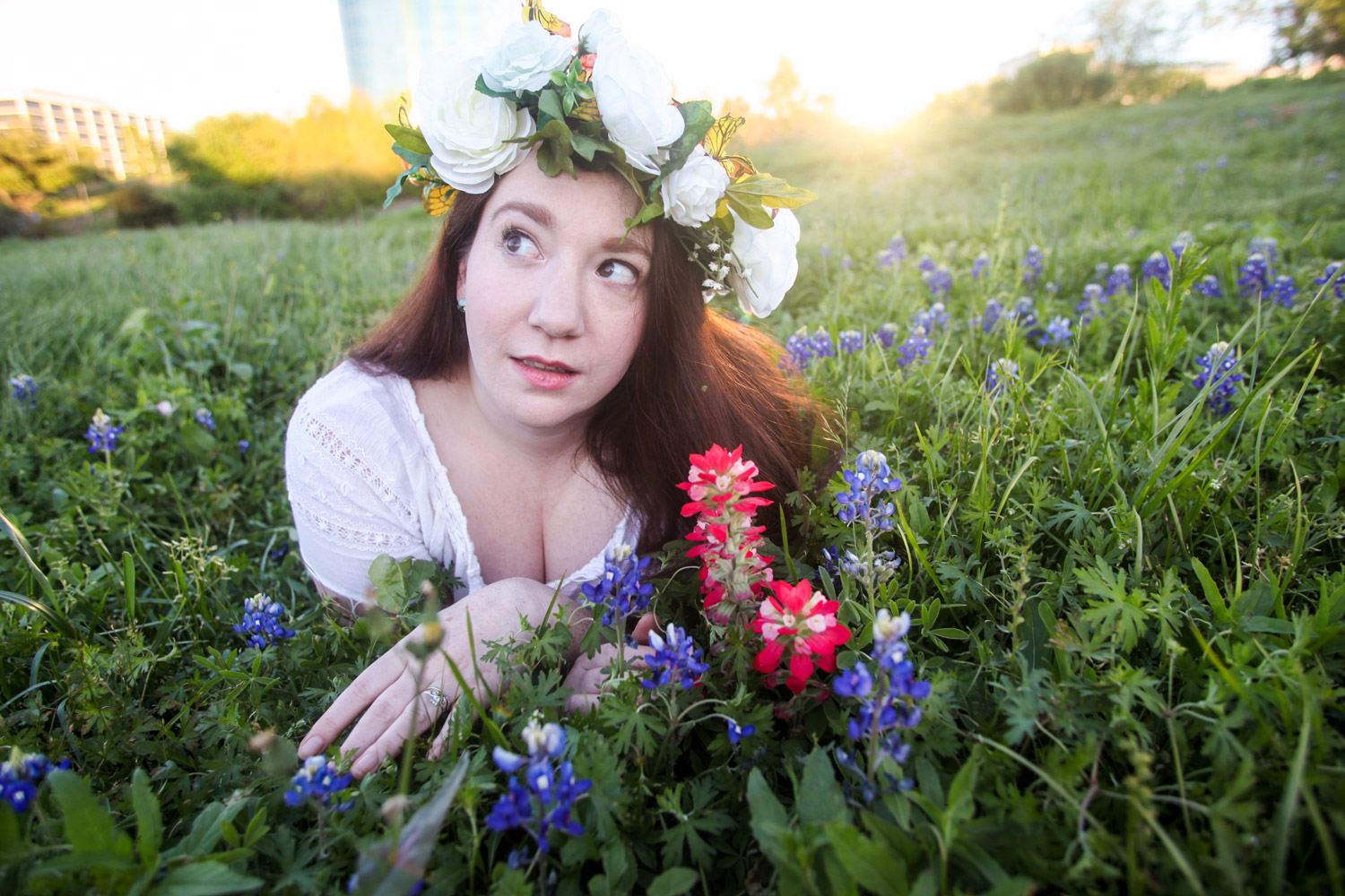 Bluebonnet-Portraits